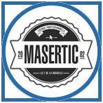 Logo - MASERTIC / Clément Auger