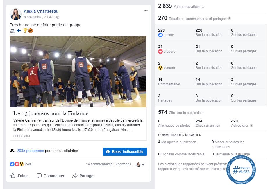 Alexia Chartereau / Post Facebook / EDF