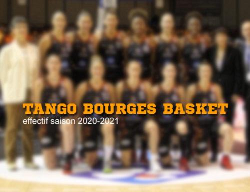 L'effectif du Tango Bourges Basket saison 2020/2021